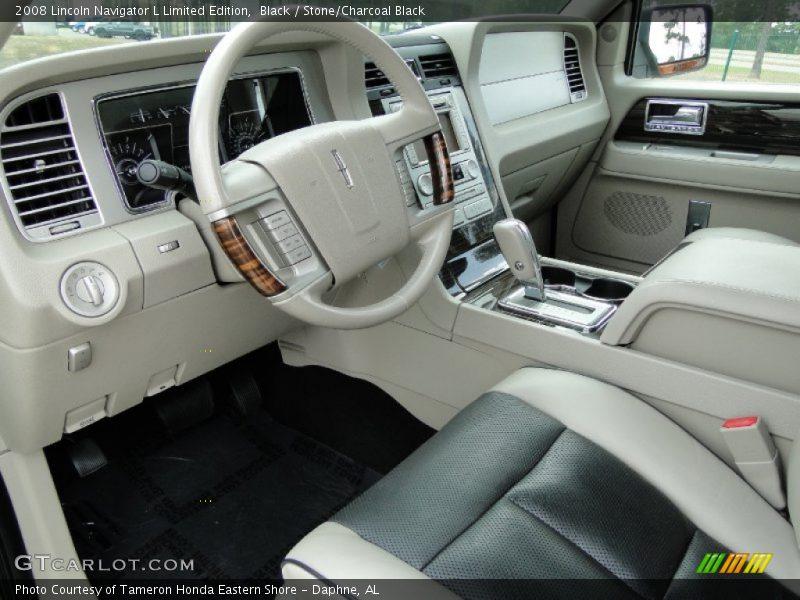 2008 Navigator L Limited Edition Stone Charcoal Black Interior Photo No 50299605