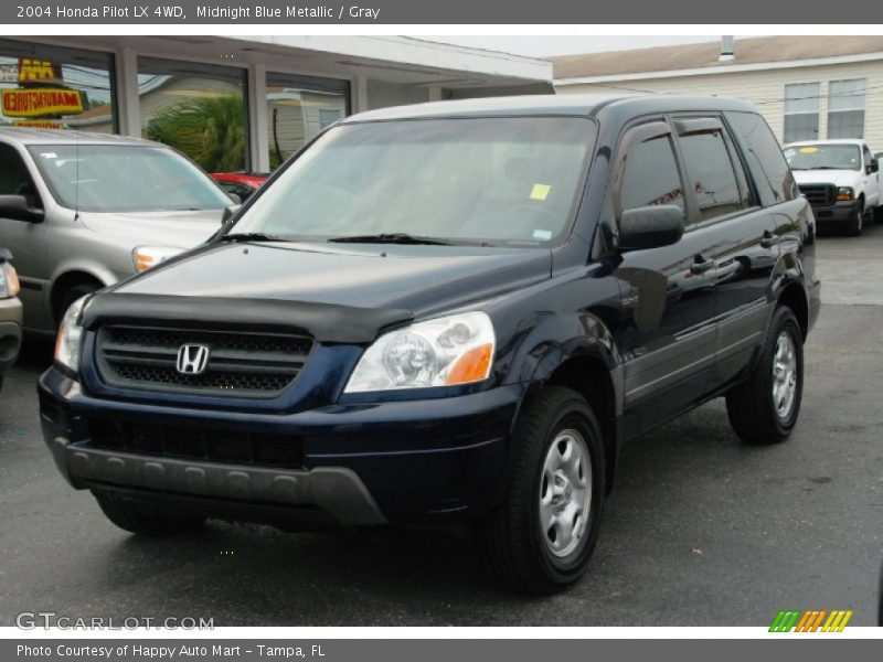 2004 honda pilot lx 4wd in midnight blue metallic photo no. Black Bedroom Furniture Sets. Home Design Ideas
