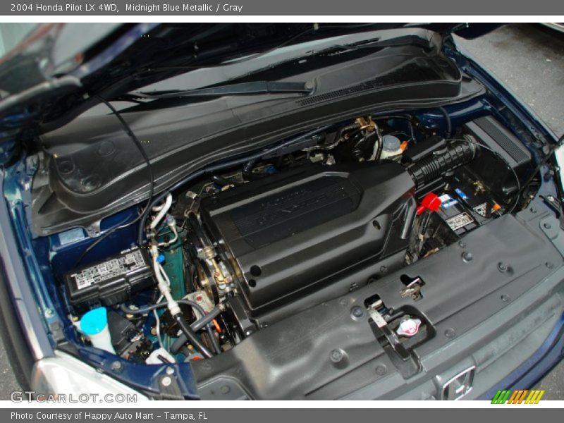 2004 pilot lx 4wd engine 3 5 liter sohc 24 valve vtec v6. Black Bedroom Furniture Sets. Home Design Ideas