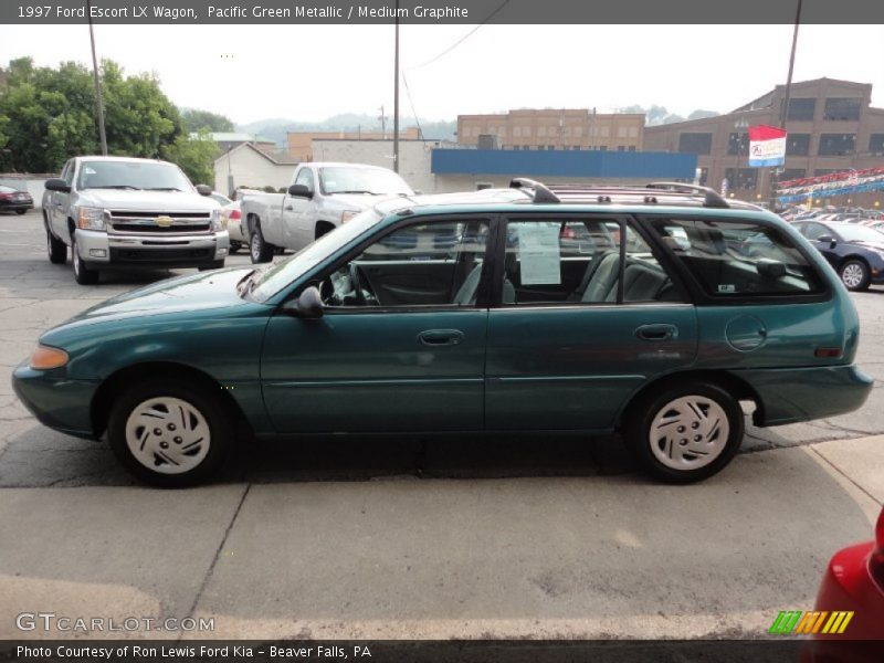 1997 ford escort lx wagon in pacific green metallic photo. Black Bedroom Furniture Sets. Home Design Ideas