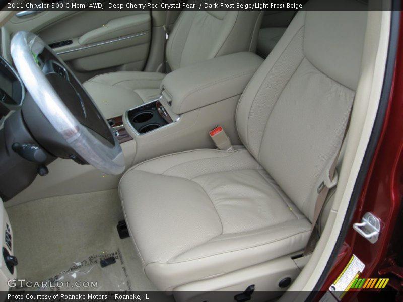 2011 300 C Hemi AWD Dark Frost Beige/Light Frost Beige Interior