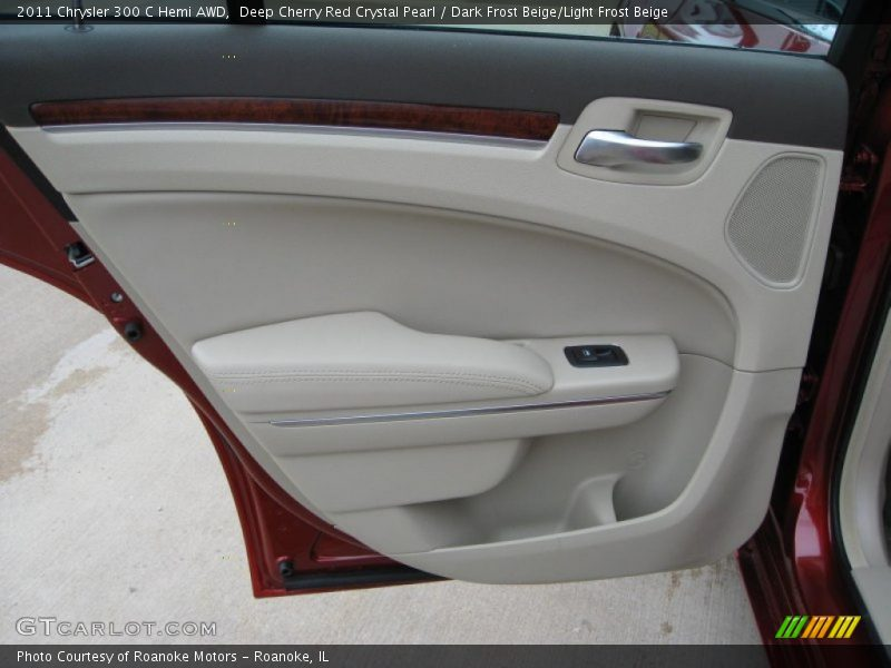 Door Panel of 2011 300 C Hemi AWD