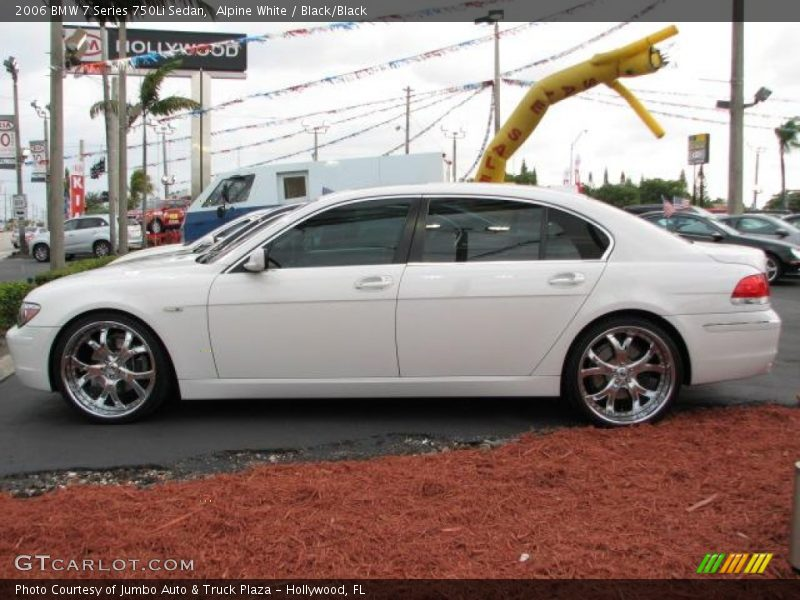 2006 Bmw 7 Series 750li Sedan In Alpine White Photo No