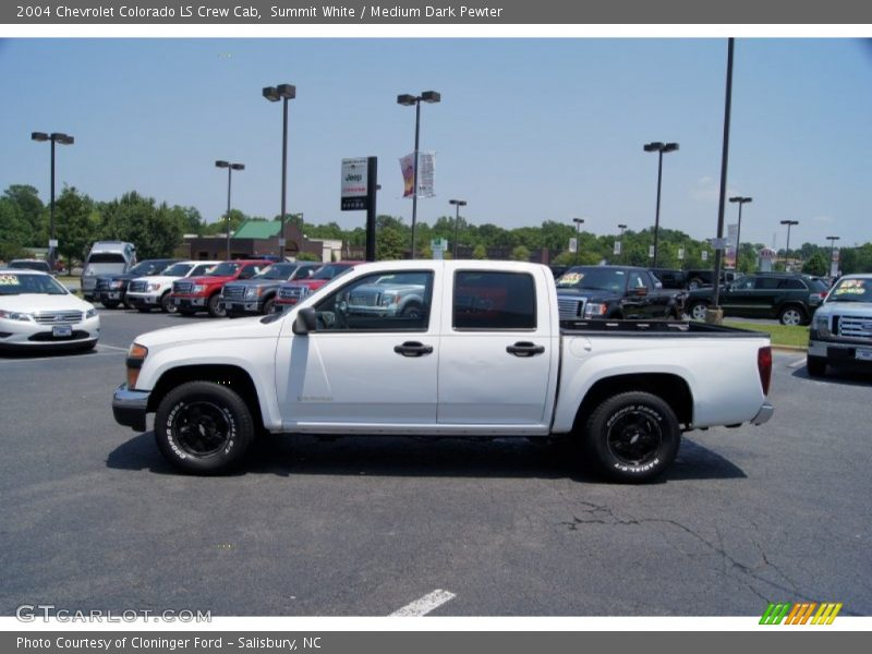 2004 chevrolet colorado ls crew cab in summit white photo no 50458907. Black Bedroom Furniture Sets. Home Design Ideas
