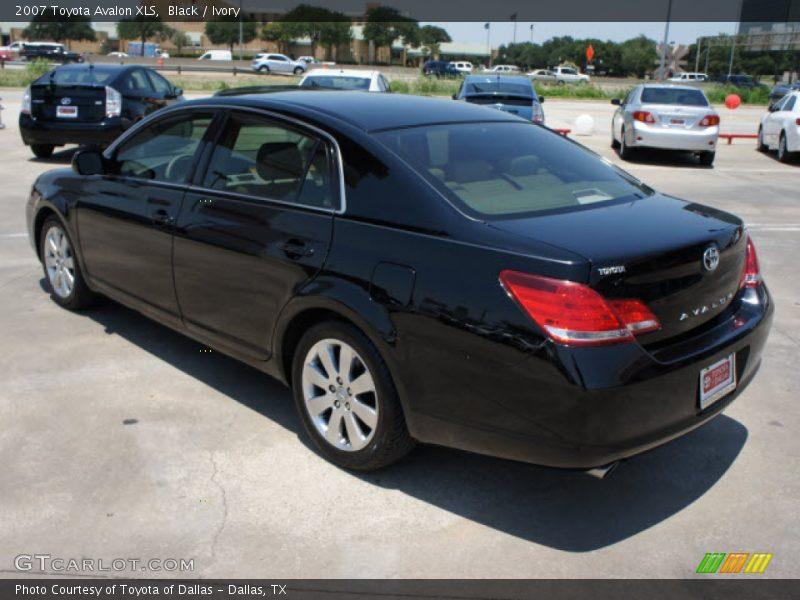 2007 Toyota Avalon XLS In Black Photo No 50464847
