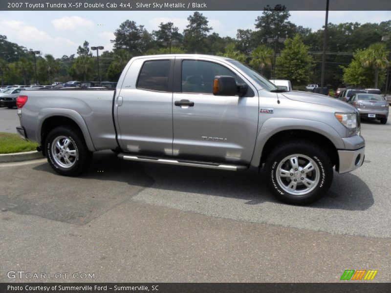 2007 Toyota Tundra Double Cab >> 2007 Toyota Tundra X-SP Double Cab 4x4 in Silver Sky Metallic Photo No. 50525206 | GTCarLot.com
