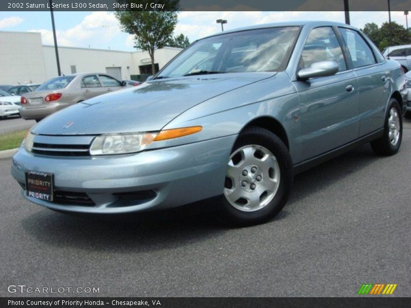 2002 saturn l series l300 sedan in silver blue photo no 50566480. Black Bedroom Furniture Sets. Home Design Ideas