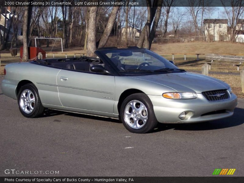 2000 chrysler sebring jxi convertible in light cypress. Black Bedroom Furniture Sets. Home Design Ideas
