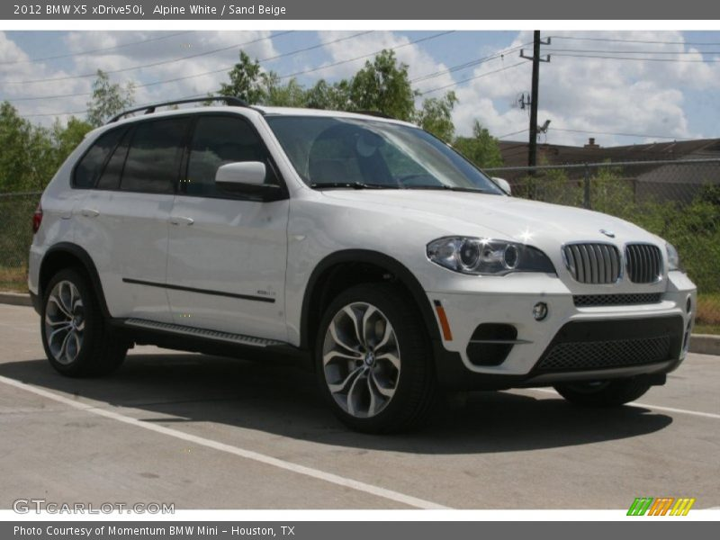 2012 bmw x5 xdrive50i in alpine white photo no 50616585. Black Bedroom Furniture Sets. Home Design Ideas