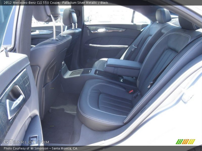 2012 CLS 550 Coupe Black Interior
