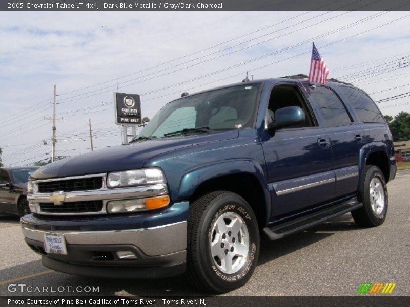2005 chevrolet tahoe lt 4x4 in dark blue metallic photo no. Black Bedroom Furniture Sets. Home Design Ideas