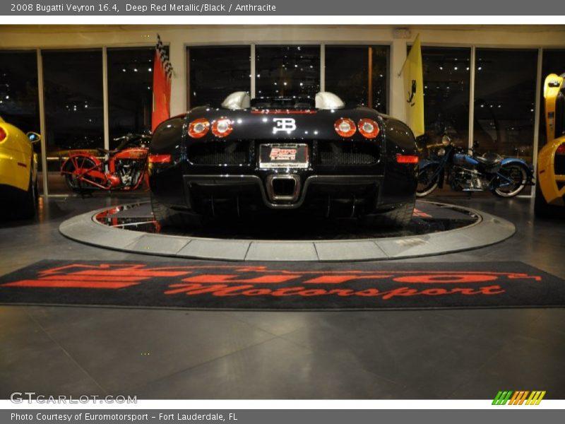 Deep Red Metallic/Black / Anthracite 2008 Bugatti Veyron 16.4