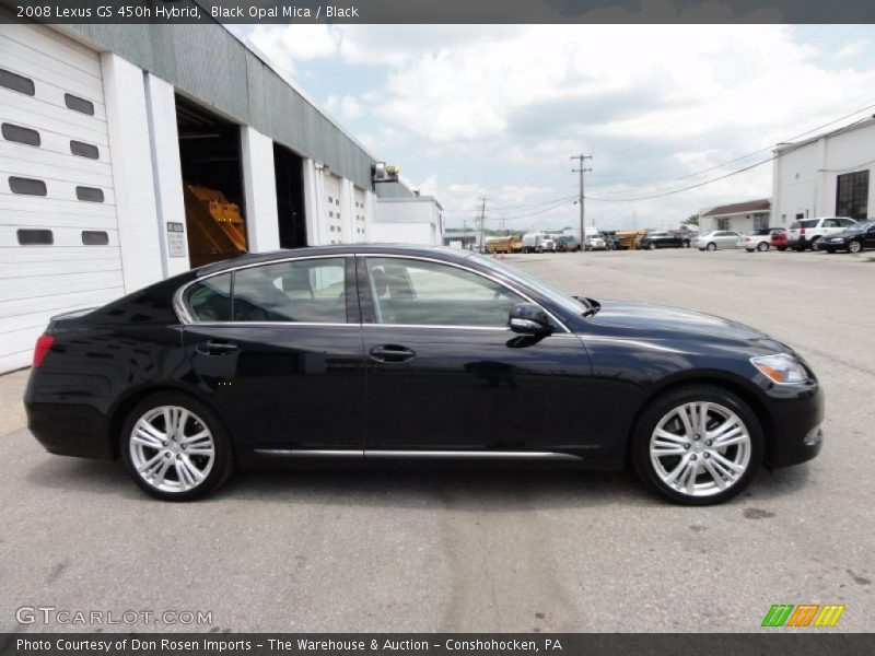 2008 Lexus Gs 450h Hybrid In Black Opal Mica Photo No