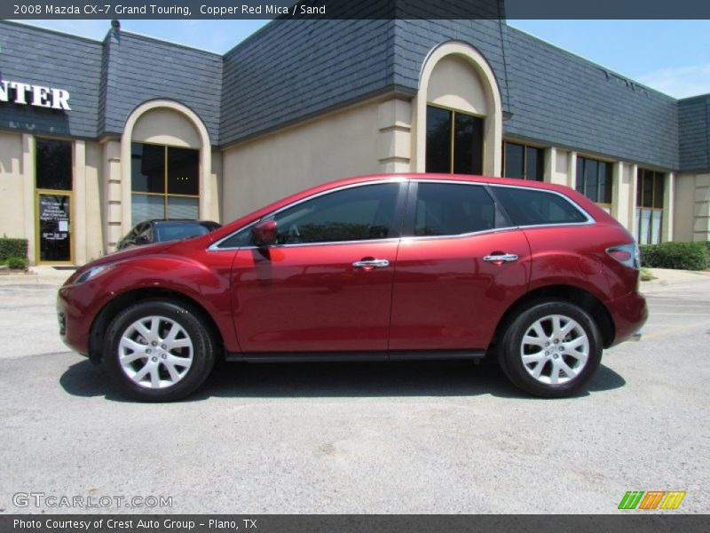 2008 mazda cx 7 grand touring in copper red mica photo no 51409383. Black Bedroom Furniture Sets. Home Design Ideas
