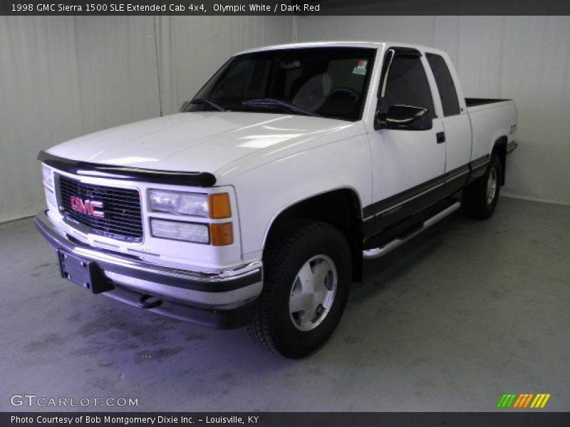 1998 gmc sierra 1500 sle extended cab 4x4 in olympic white. Black Bedroom Furniture Sets. Home Design Ideas
