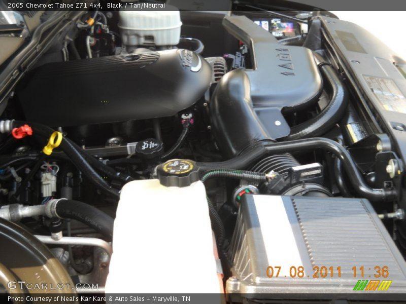 2005 tahoe z71 4x4 engine 5 3 liter ohv 16 valve vortec v8 photo no 51492670. Black Bedroom Furniture Sets. Home Design Ideas