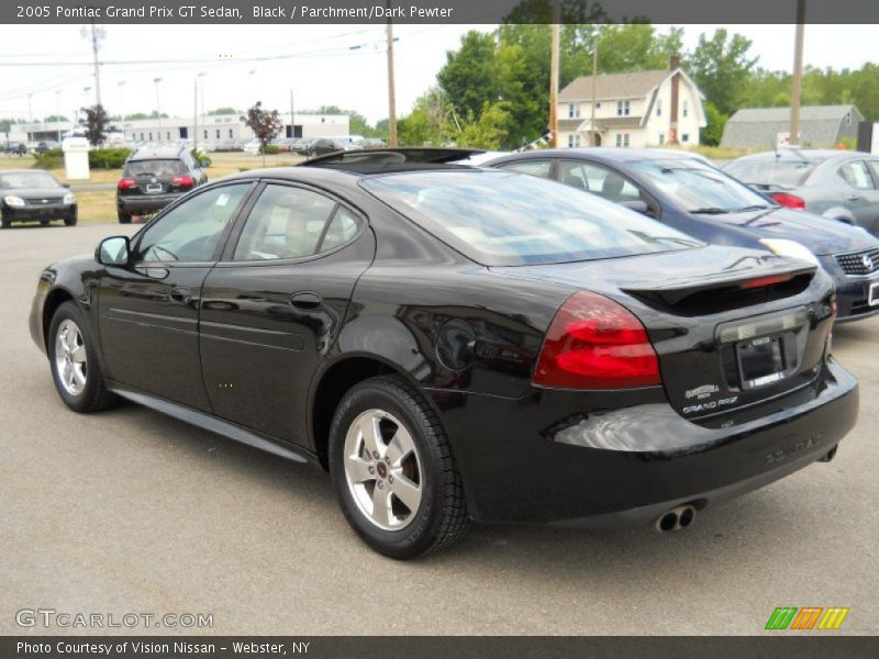 2005 pontiac grand prix gt sedan in black photo no 51635809. Black Bedroom Furniture Sets. Home Design Ideas