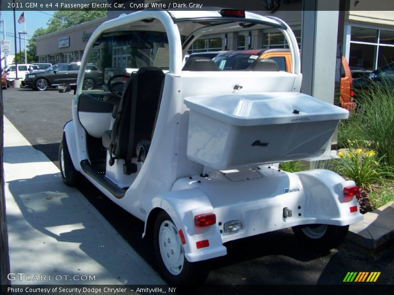 2011 e e4 4 Passenger Electric Car Crystal White