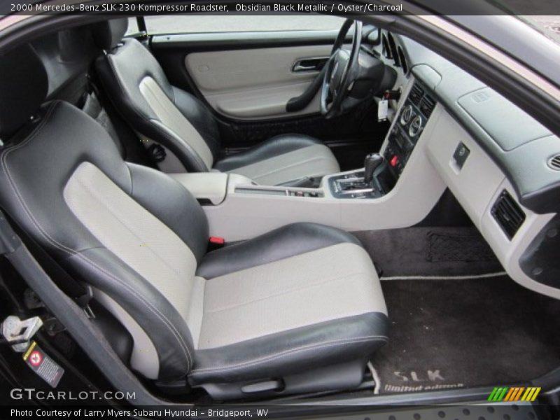 2000 slk 230 kompressor roadster oyster charcoal interior photo no 51720667. Black Bedroom Furniture Sets. Home Design Ideas