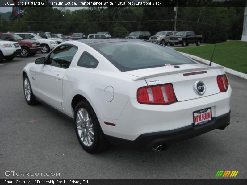 2012 ford mustang gt premium coupe in performance white photo no 51849767. Black Bedroom Furniture Sets. Home Design Ideas