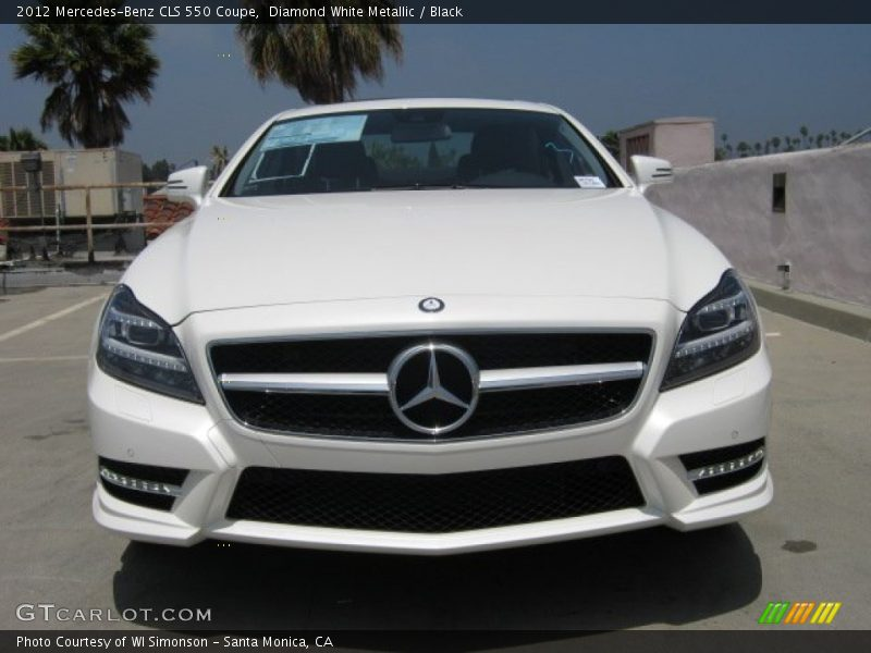 2012 CLS 550 Coupe Diamond White Metallic