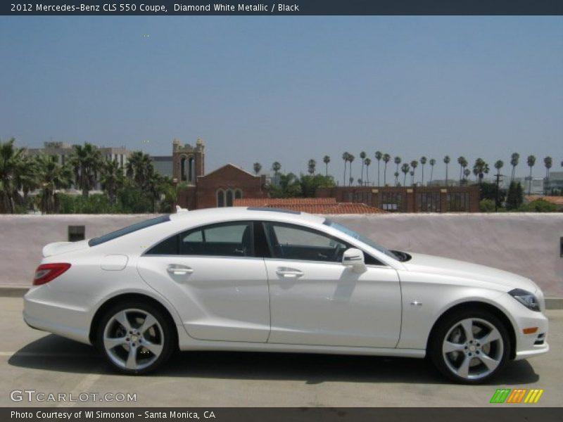 2012 CLS 550 Coupe Diamond White Metallic