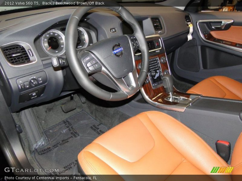 Dashboard of 2012 S60 T5