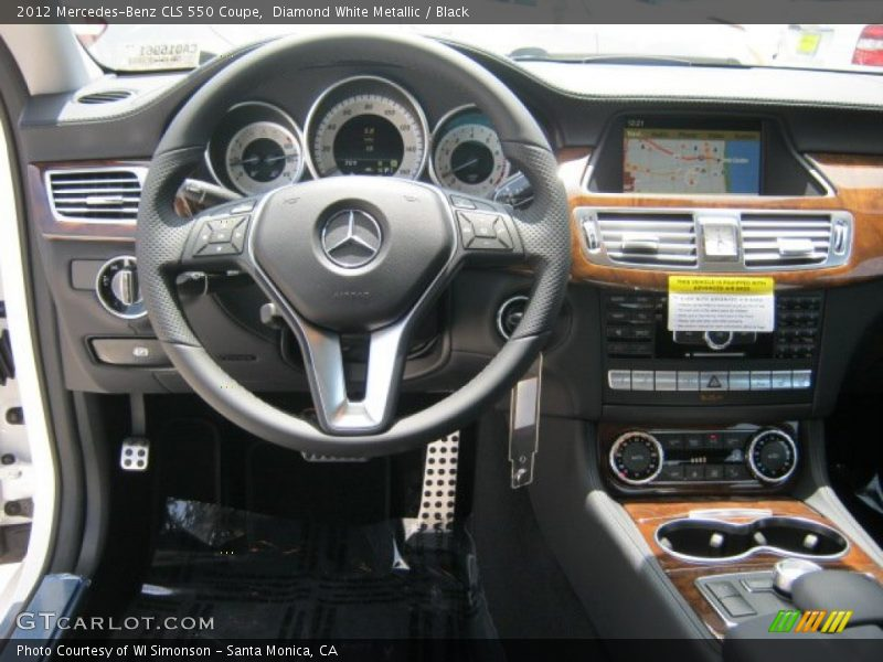 Dashboard of 2012 CLS 550 Coupe