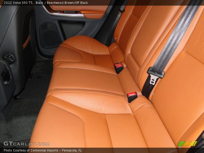 2012 S60 T5 Beechwood Brown/Off Black Interior