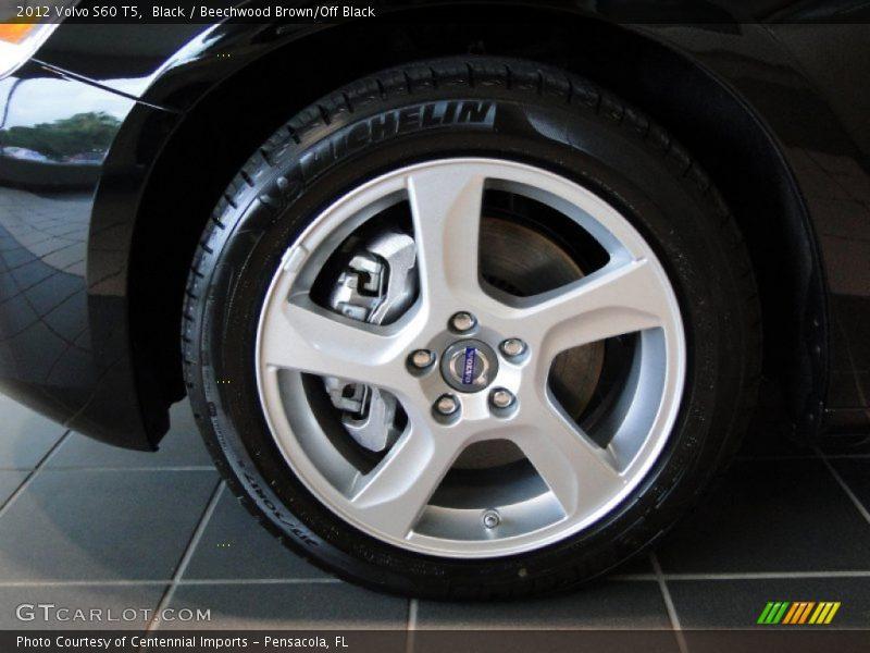 2012 S60 T5 Wheel