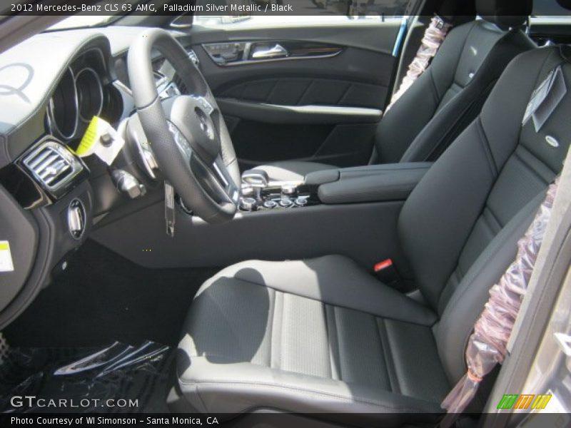 2012 CLS 63 AMG Black Interior
