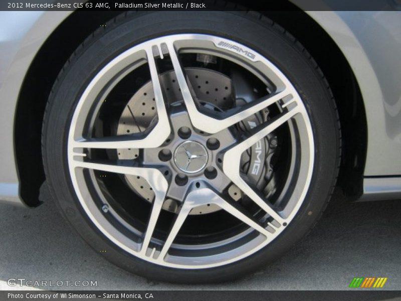 2012 CLS 63 AMG Wheel