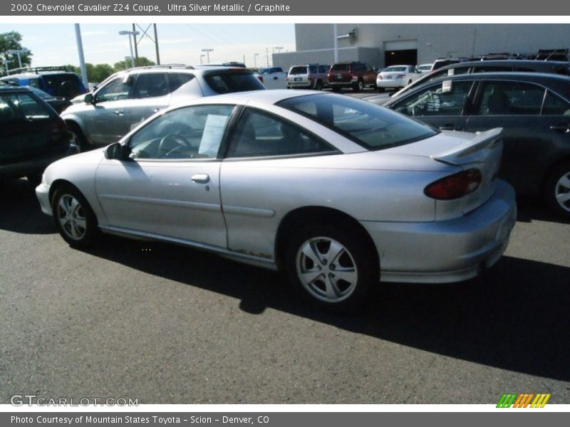 2002 Chevrolet Cavalier Z24 Coupe in Ultra Silver Metallic ...