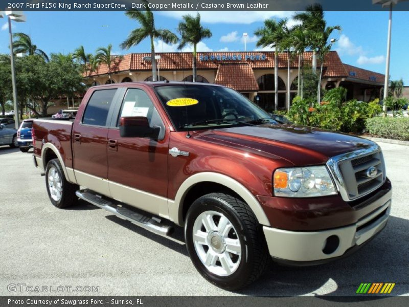 2007 Ford F150 King Ranch Supercrew In Dark Copper