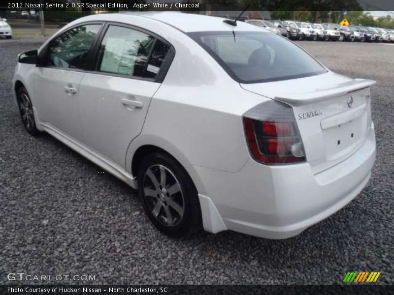 2012 nissan sentra 2 0 sr special edition in aspen white photo no 52549310. Black Bedroom Furniture Sets. Home Design Ideas