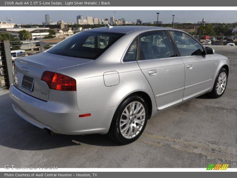 2008 Audi A4 2 0t S Line Sedan In Light Silver Metallic