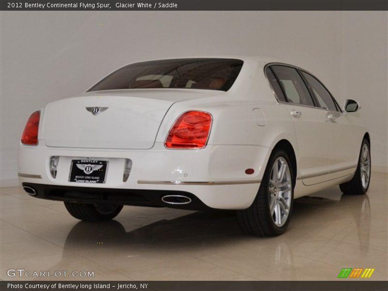 Glacier White / Saddle 2012 Bentley Continental Flying Spur