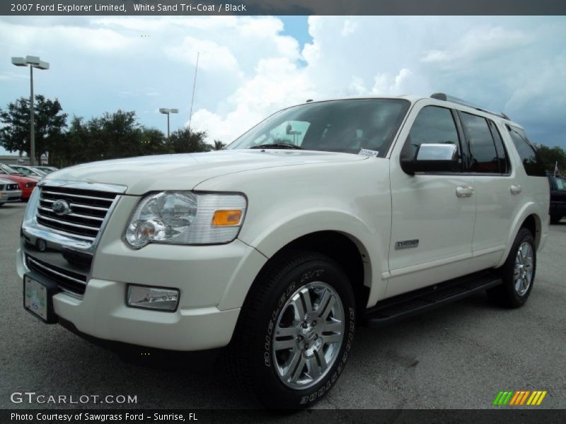 2007 Ford Explorer Limited In White Sand Tri Coat Photo No