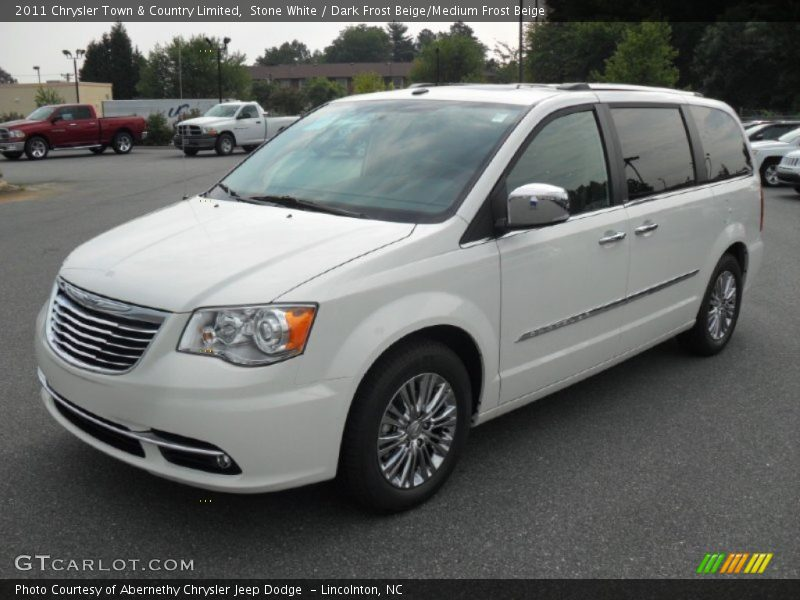 2011 chrysler town country limited in stone white photo for Stone s town country motors