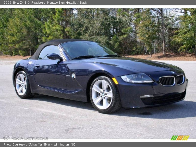 2006 bmw z4 roadster in monaco blue metallic photo no. Black Bedroom Furniture Sets. Home Design Ideas