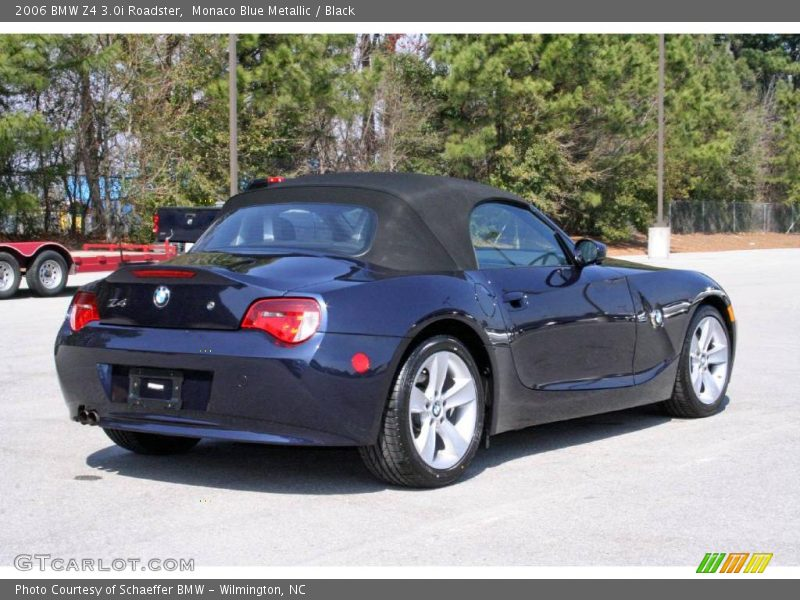 2006 Bmw Z4 3 0i Roadster In Monaco Blue Metallic Photo No 5333602 Gtcarlot Com