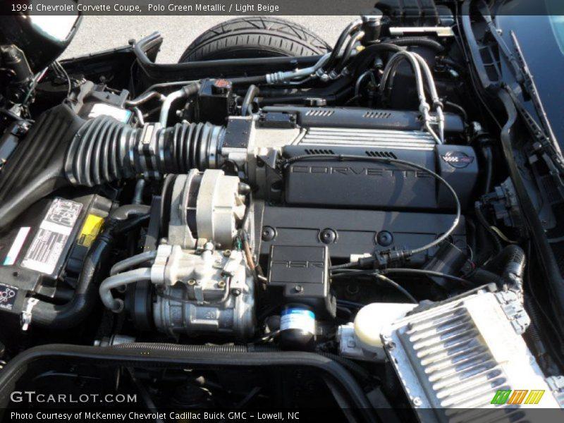 1994 Corvette Coupe Engine 5 7 Liter Ohv 16 Valve Lt1 V8
