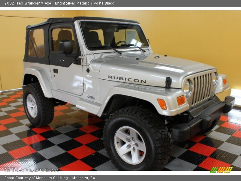2002 jeep wrangler x 4x4 in bright silver metallic photo no 53380730. Black Bedroom Furniture Sets. Home Design Ideas