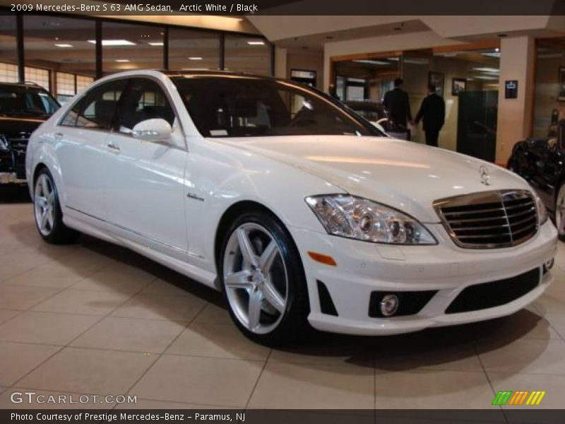 2009 mercedes benz s 63 amg sedan in arctic white photo no for 2009 mercedes benz s550 amg
