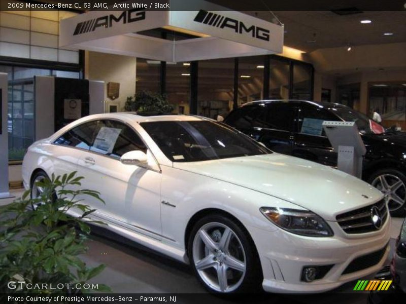 2009 mercedes benz cl 63 amg in arctic white photo no for Mercedes benz polar white paint