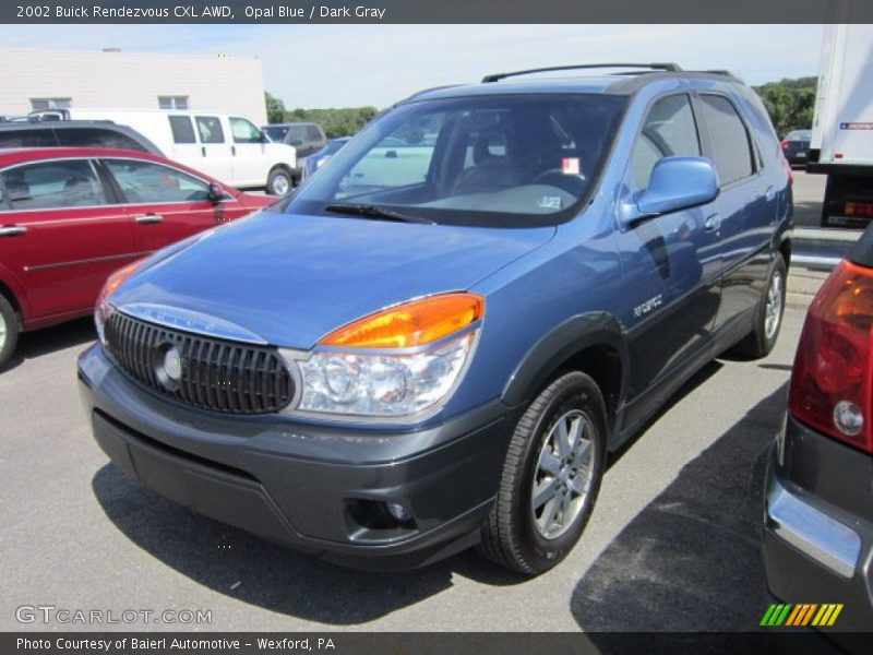 Opal Blue / Dark Gray 2002 Buick Rendezvous CXL AWD