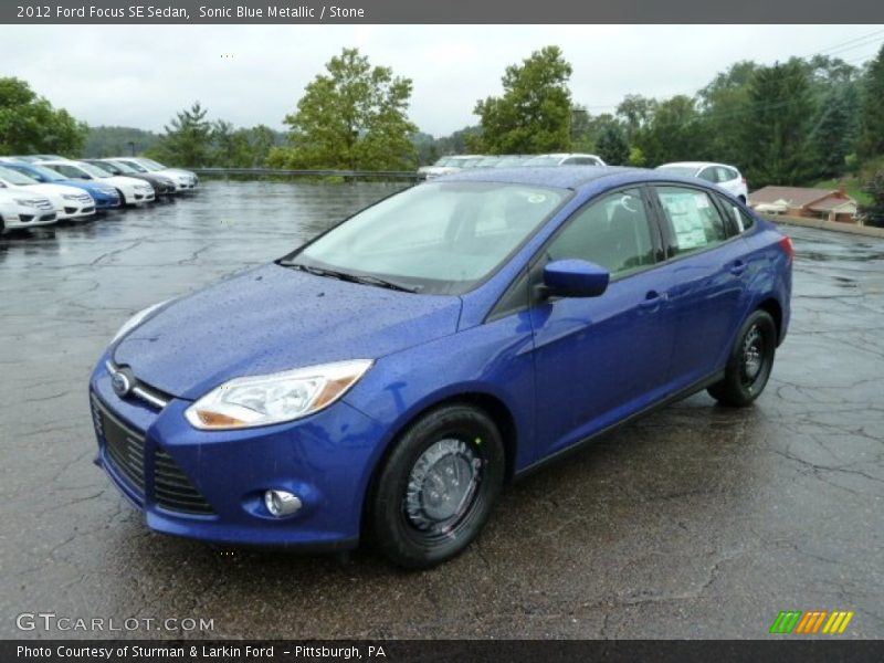 2012 ford focus se sedan in sonic blue metallic photo no 53666613. Black Bedroom Furniture Sets. Home Design Ideas
