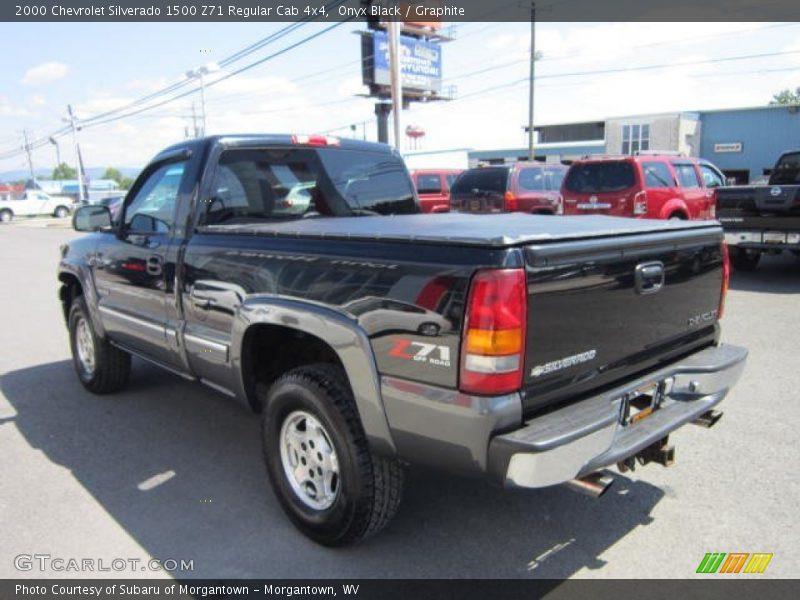 2000 Chevrolet Silverado 1500 Z71 Regular Cab 4x4 in Onyx Black Photo No. 53766815 | GTCarLot.com