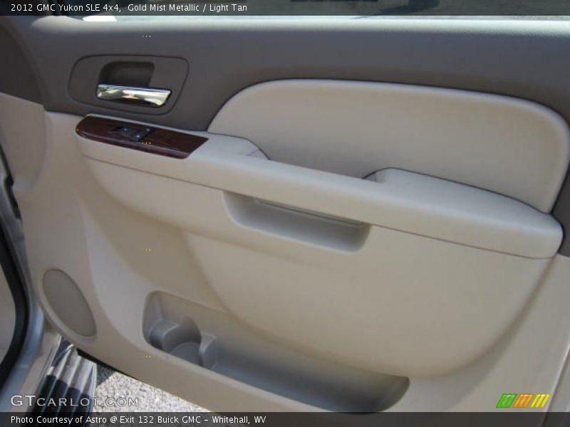Gold Mist Metallic / Light Tan 2012 GMC Yukon SLE 4x4