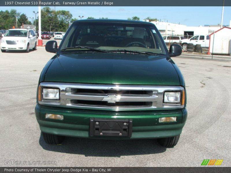 1997 Chevrolet S10 Regular Cab In Fairway Green Metallic